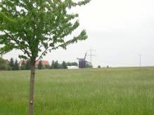 weithin sichtbar |Bockwindmühle Bechstedtstraß