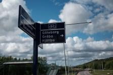 Göteborg in Sicht