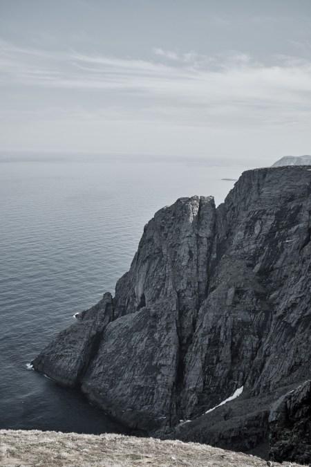 Felsen am Nordkapp