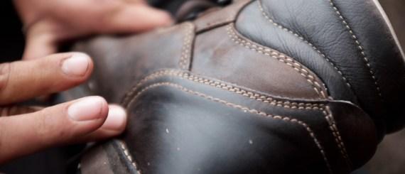 Schuhe Polieren