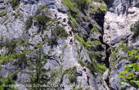 Klettersteig Grünstein