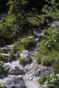 Steine und Geröll