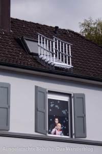 Treppe an Dachfenster