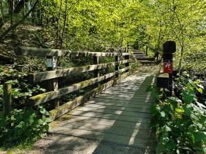 Brücke im Stinderbachtal