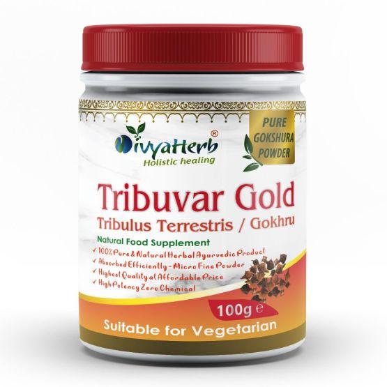 Tribuvar Gold Powder Gokhru Gokshura