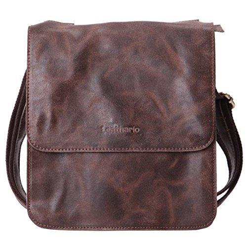 cd616779c0f leathario sac en cuir sac rtro en cuir sac vintage cartable en cuir pour 1