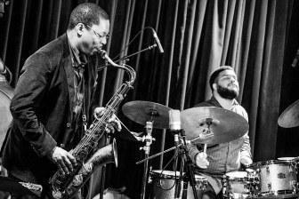 Ravi Coltrane and Kush Abadey