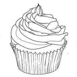 Cupcake Ausmalbilder Fr Erwachsene Kostenlos Zum Ausdrucken