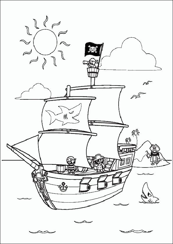 Ausmalbilder Piraten 4 Ausmalbilder Fr Kinder