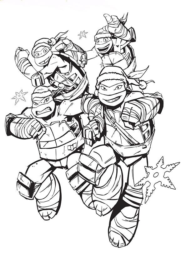 Ausmalbilder Ninja Turtles 7 Ausmalbilder Kostenlos