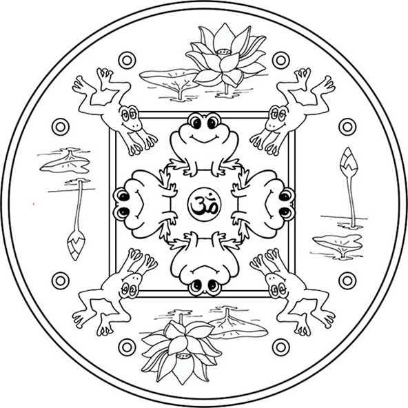 Ausmalbilder Mandala 7 Ausmalbilder Kostenlos