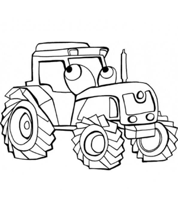 Ausmalbilder Kostenlos Traktor 5 Ausmalbilder Kostenlos