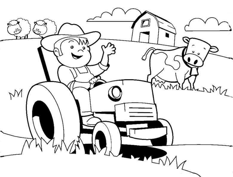 Traktor Ausmalbilder Zum Ausdrucken Kostenlos Pravdarubtop
