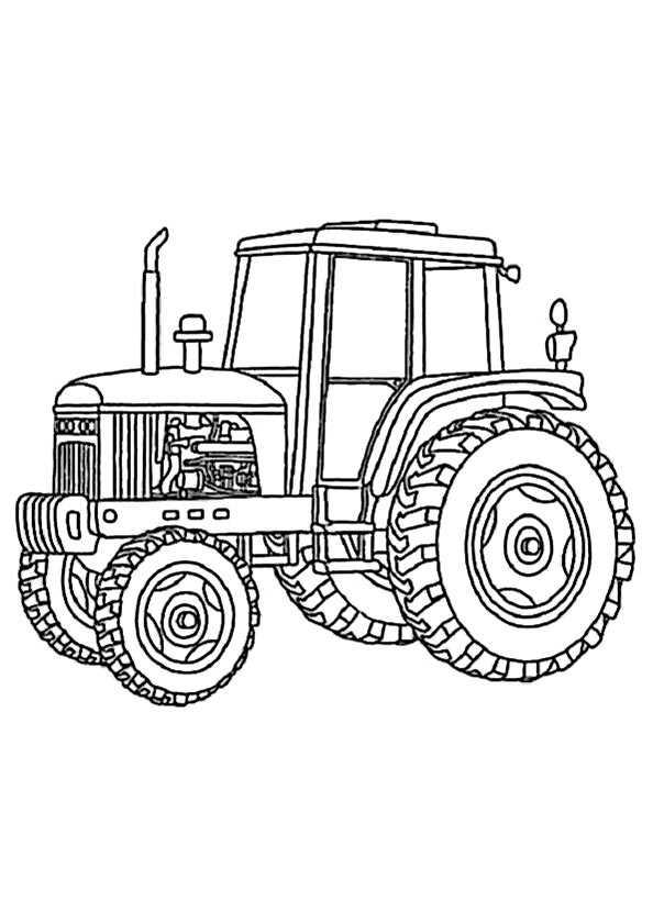 40 kleiner roter traktor ausmalbilder  besten bilder von
