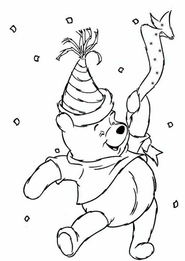 Ausmalbilder Kostenlos Winnie Pooh Baby 2 Ausmalbilder