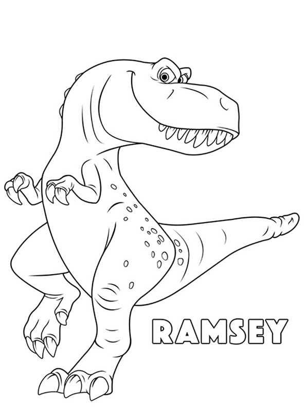 Der Gute Dinosaurier 6 Ausmalbilder Kostenlos