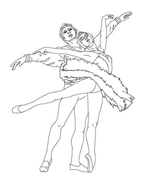 Ballett 2 Ausmalbilder Kostenlos