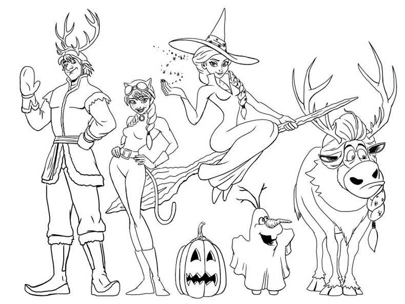 Halloween 26 Ausmalbilder Kostenlos