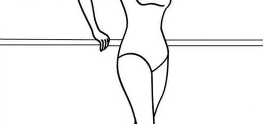 ballerina (9)  ausmalbilder kostenlos
