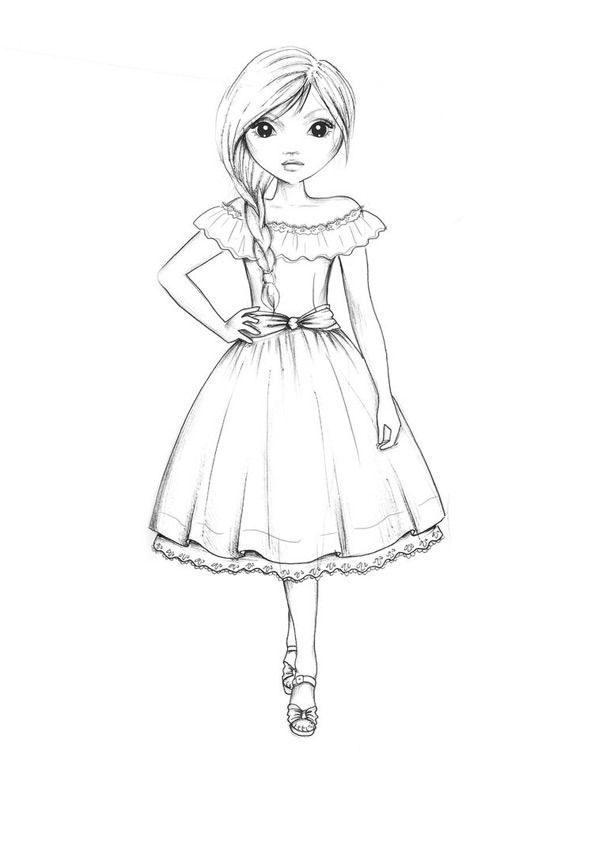 Top Model Book Coloring Pages Top Model Book Coloring Pages