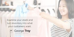 George Troy, Retail Consultant