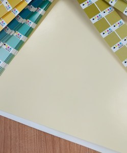 File and colour swatch