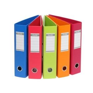bantex a4 lever arch PVC fruit assorted colours