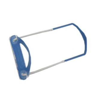 ausrecord low profile lp tube clip blue