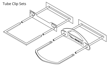 tube clip sets