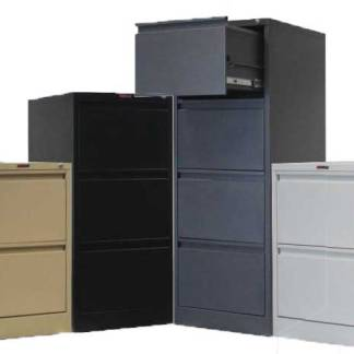Steel drawer filing storage cabinets