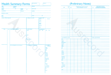 ausrecord health summary forms for medical document management