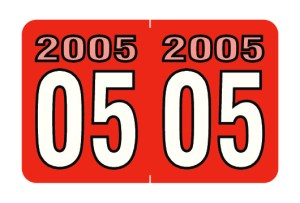 2005 Year Labels