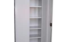 Stationery Cabinet. Silver Grey. 2000H/914W/463D
