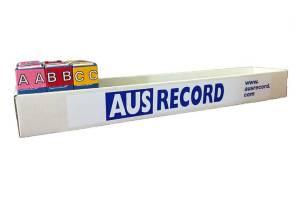 Ausrecord roll dispenser box filing accessory office organization