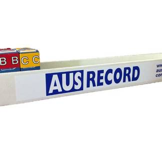 Ausrecord roll dispenser box filing accessory office organization