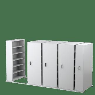 ausrecord compact-a-file 8 Bay 2175 H x 1200 W x 400 D inc-WS