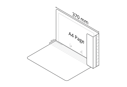 2D Extra File White