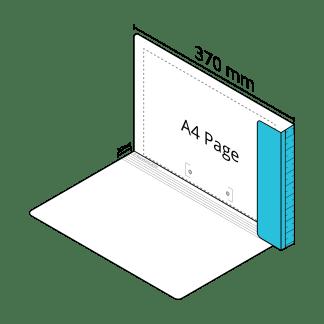 2D File Light Blue