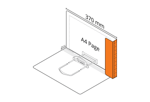 2D File Orange with LP Tube Clip