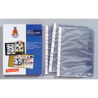 Sovereign A4 sheet protectors