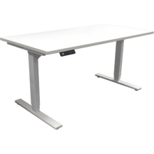 Eclipse Tranquilo Electric Sit and Stand Desk 1800 x 750 - ETE1875 lowered