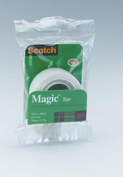Scotch 19mm magic tape refill 12.7m