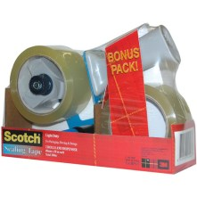 scotch bps-1 pack with 1 dispenser and 2 rolls of tape