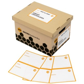 zLB10010 Marbig Archive Box Labels