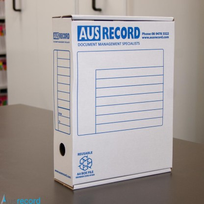 Ausrecord A4 box file