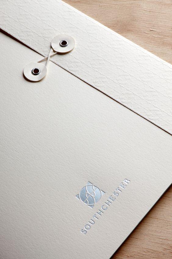 custom printed presentation folder