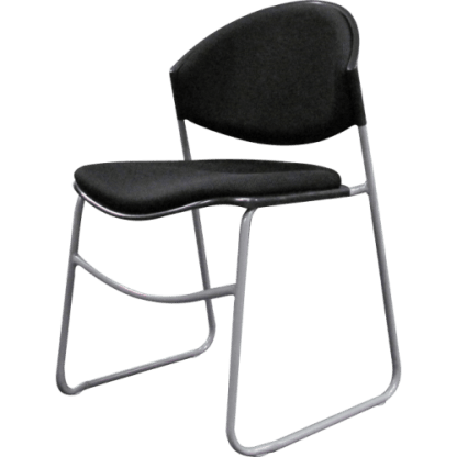 eclipse capri sled base visitor chair front angle