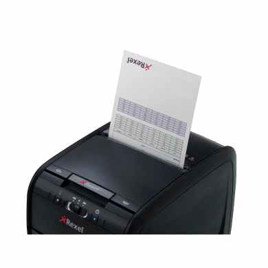 Rexel Auto+ 60X Shredder manual slot