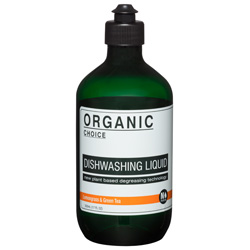 Organic Choice Lemongrass Green Tea Dishwashing Liquid