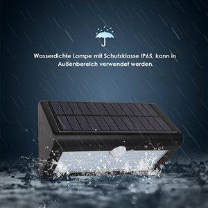 Albrillo LED Außenleuchte mit IP58 Zertifizierung schützt bei jedem Wetter